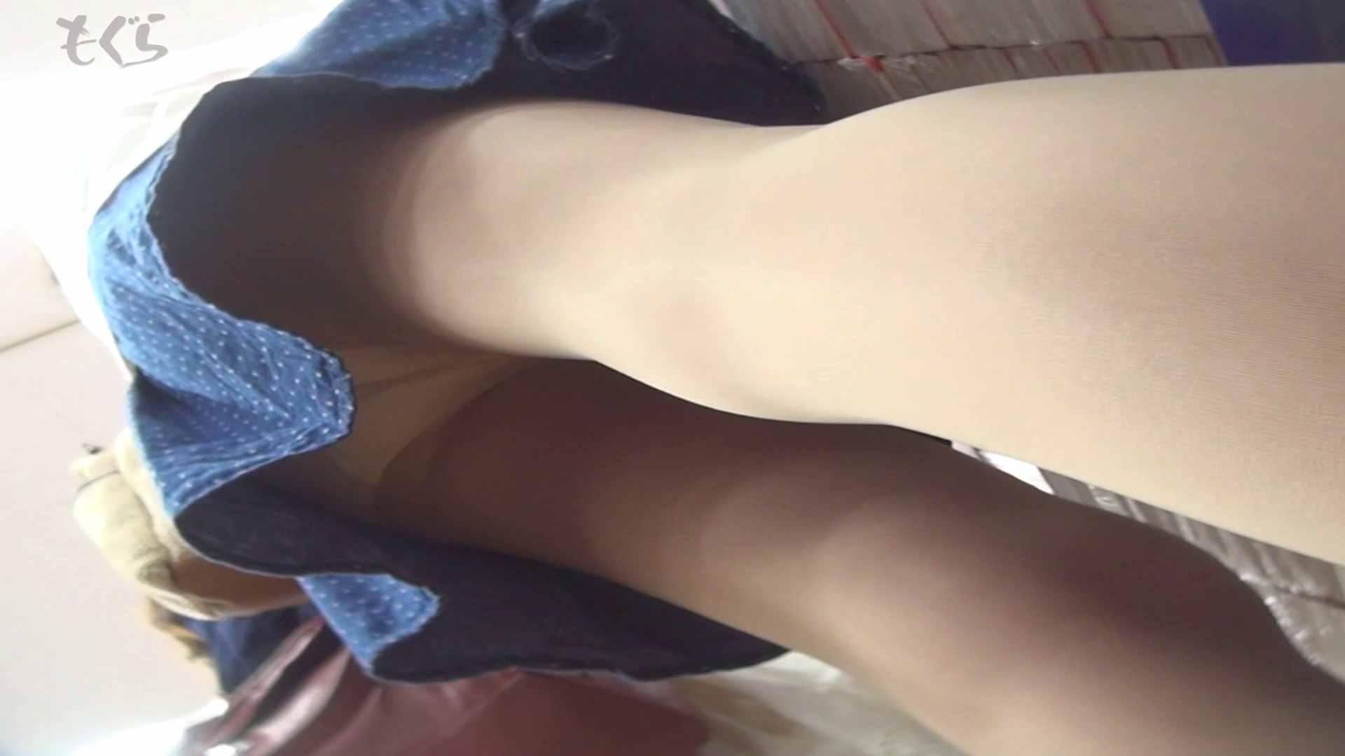 隣からNo5 青いスカート!!春です。 オマンコ 覗きワレメ動画紹介 96連発 51