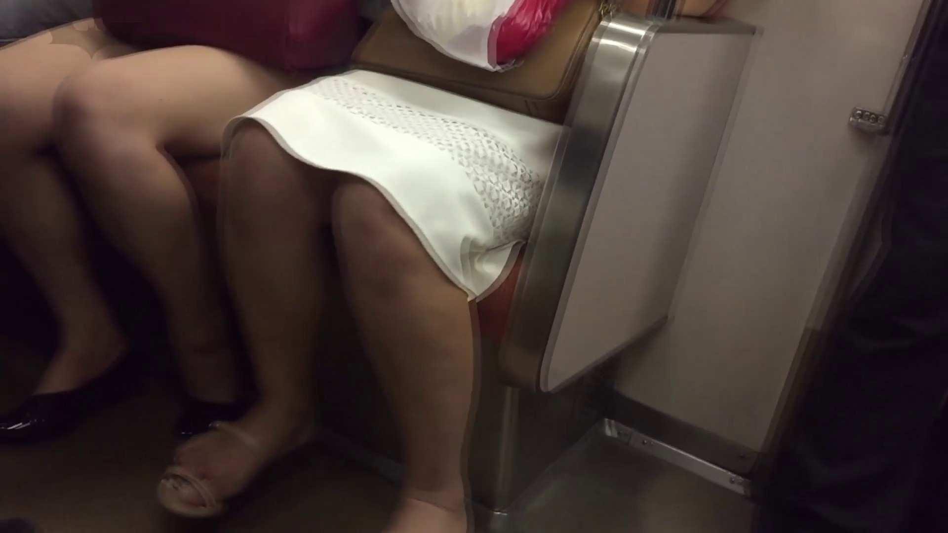 盗撮列車 vol.07 白スカートの中は爽やかな… 女体盗撮 盗撮ワレメ無修正動画無料 66連発 8