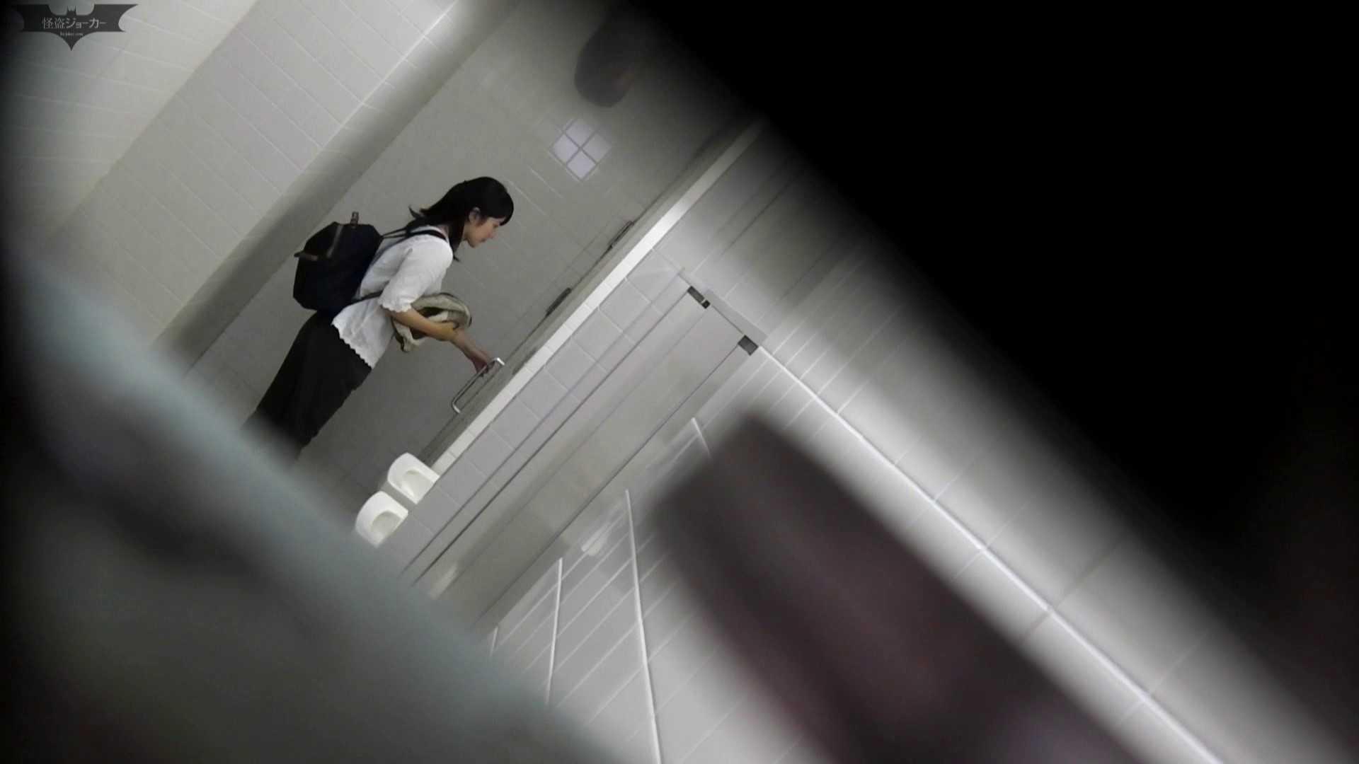 お銀 vol.68 無謀に通路に飛び出て一番明るいフロント撮り実現、見所満載 洗面所 | OL女体  94連発 82