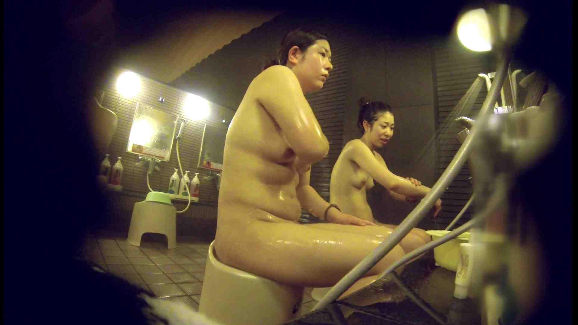 洗い場!んーーー残念なボディです。痩せれば抱けるかも? 銭湯   潜入  107連発 19