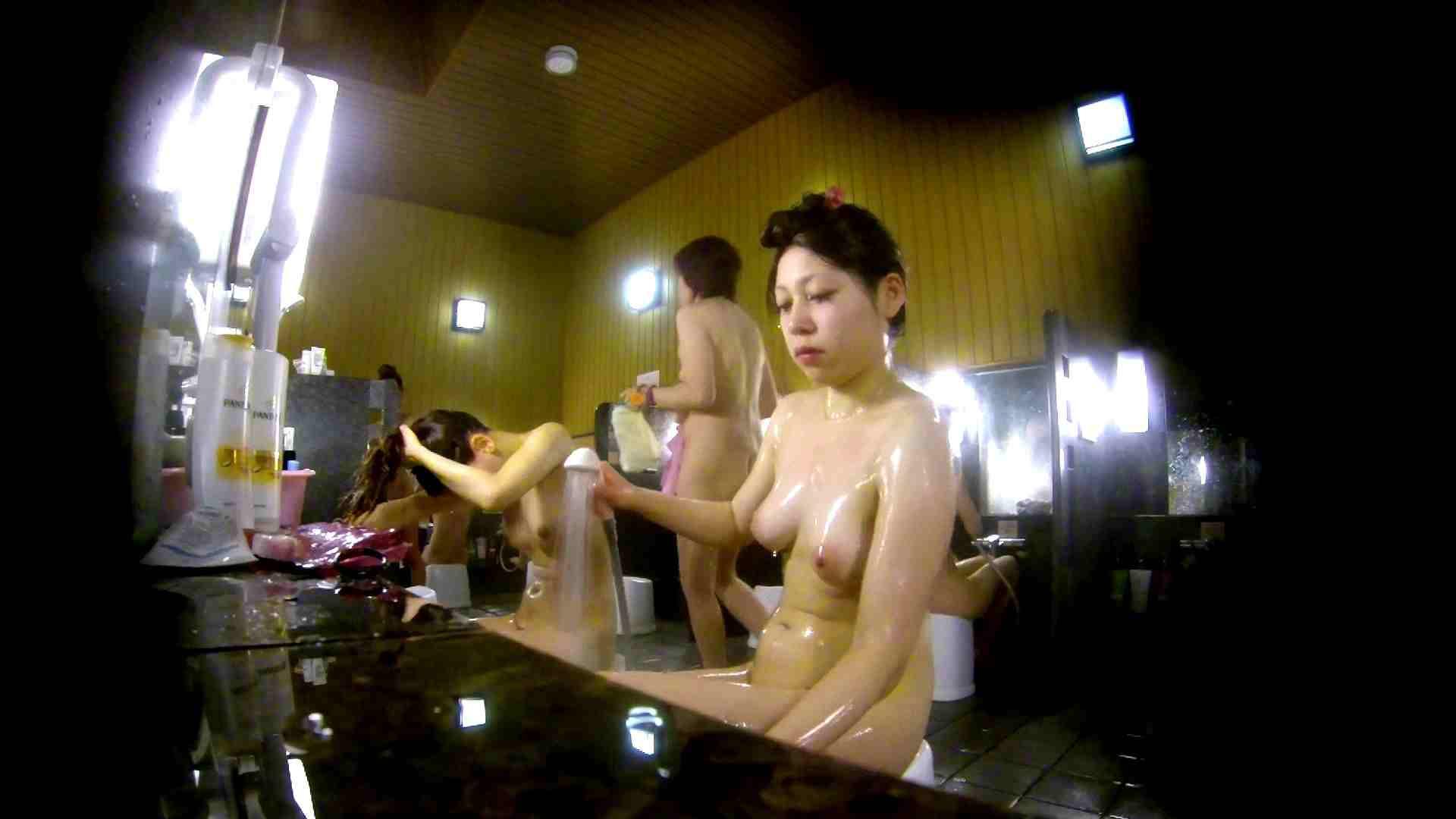 洗い場!柔らかそうな身体は良いけど、歯磨きが下品です。 銭湯   潜入  67連発 5