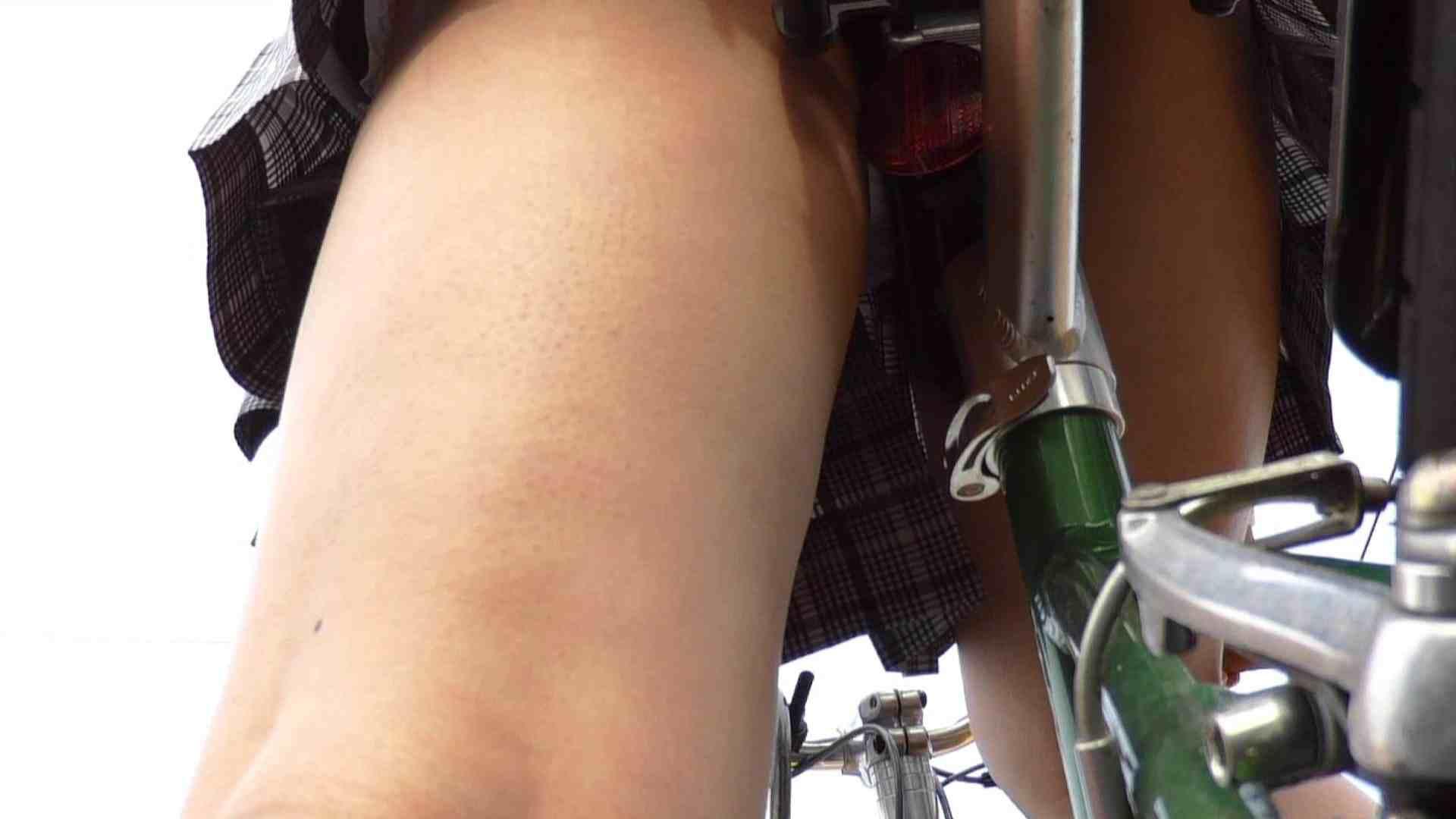 自転車パンチラ Vol.01 追跡 盗撮ヌード画像 53連発 35