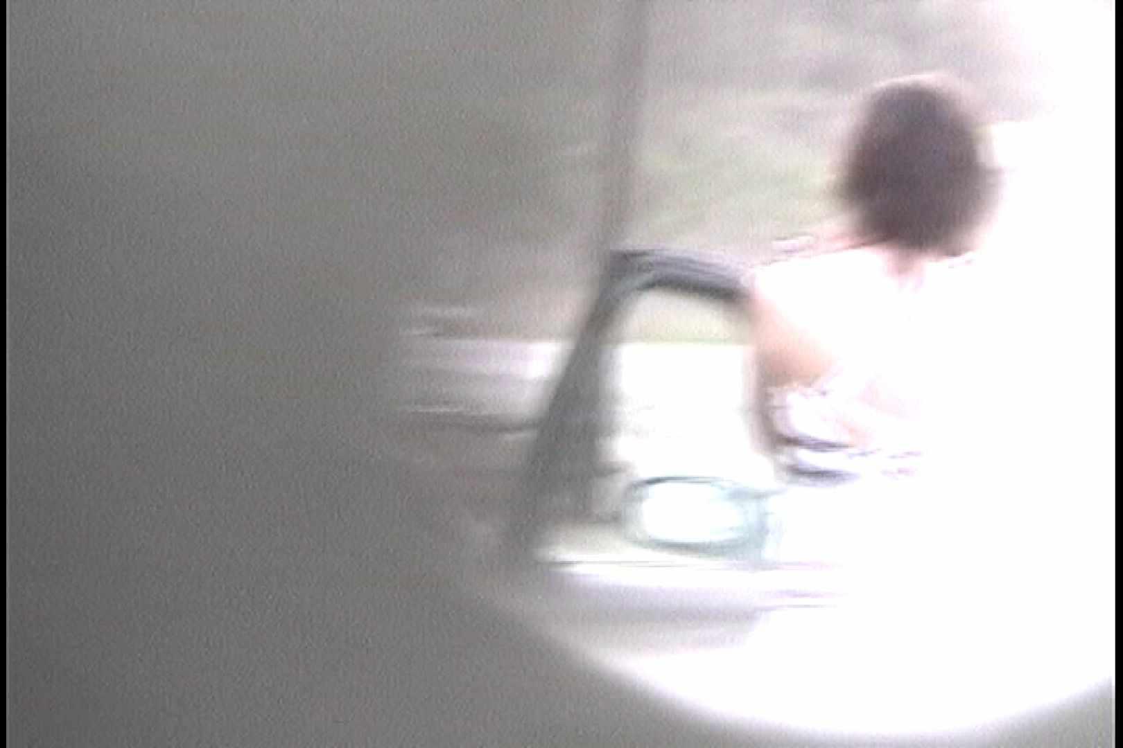 No.16 アニマル柄の水着 レースのパンツにナプキンを装着する金髪お女市さん パンツ  103連発 90