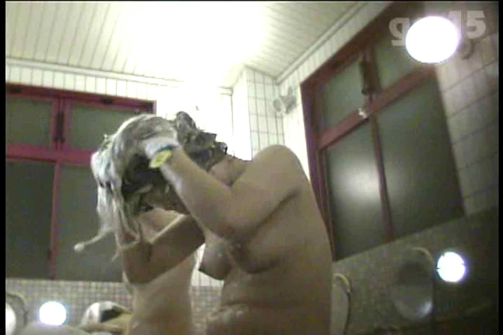 電波カメラ設置浴場からの防HAN映像 Vol.15 OL女体   チラ  90連発 52