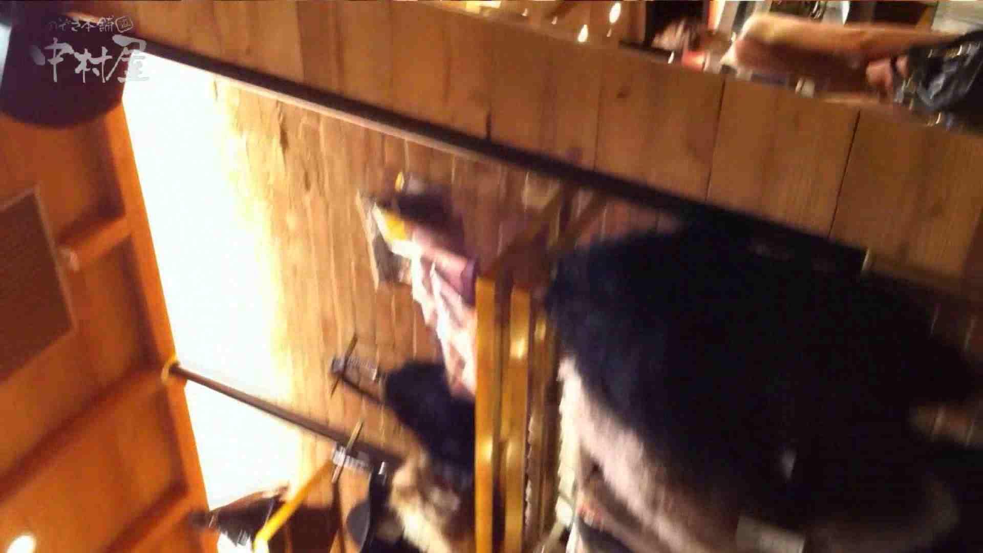 vol.75 美人アパレル胸チラ&パンチラ きれいな髪のおねーさんはド派手パンツ 接写   美人  81連発 36