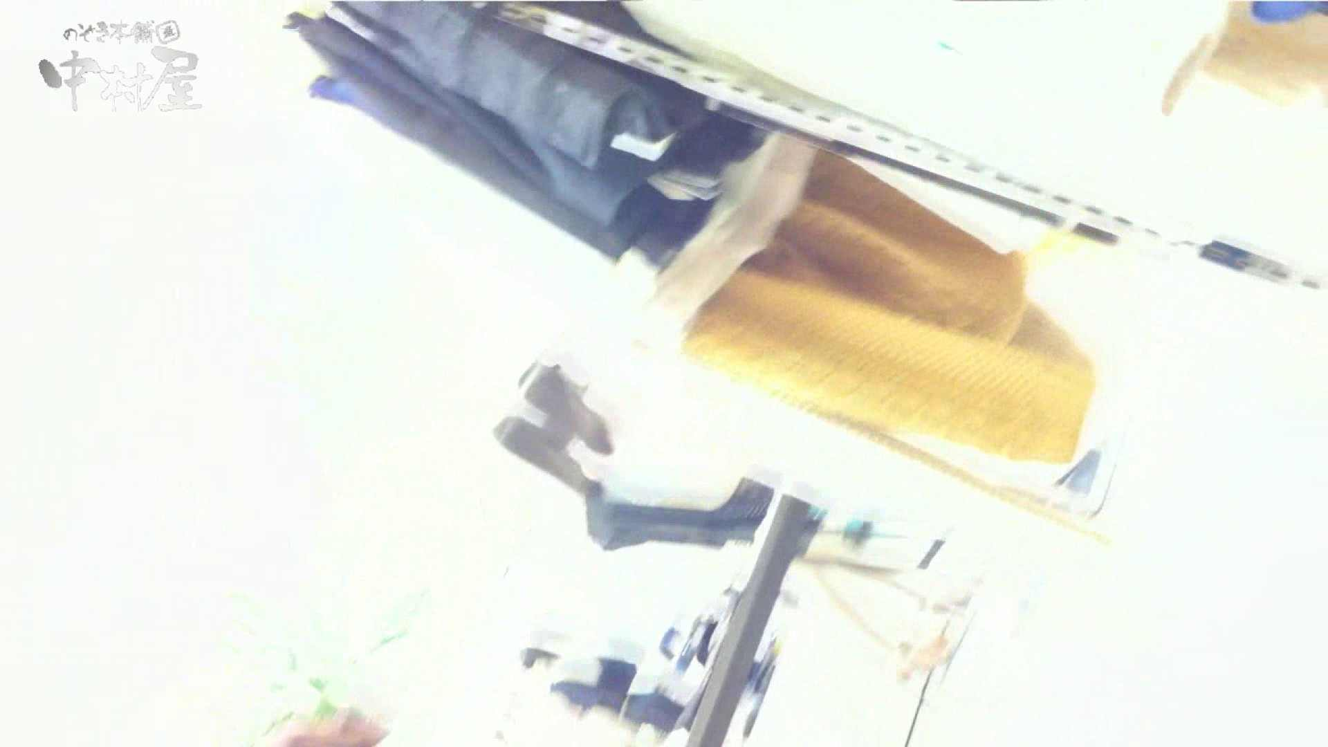 vol.75 美人アパレル胸チラ&パンチラ きれいな髪のおねーさんはド派手パンツ 接写   美人  81連発 71