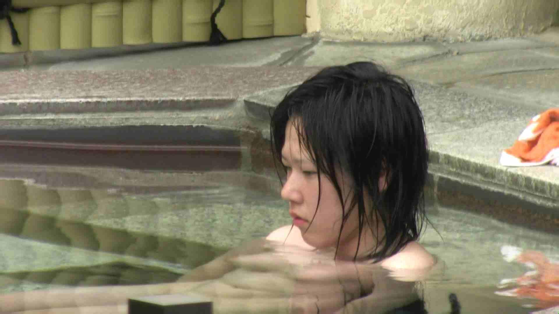 Aquaな露天風呂Vol.36 露天 のぞき動画画像 78連発 44