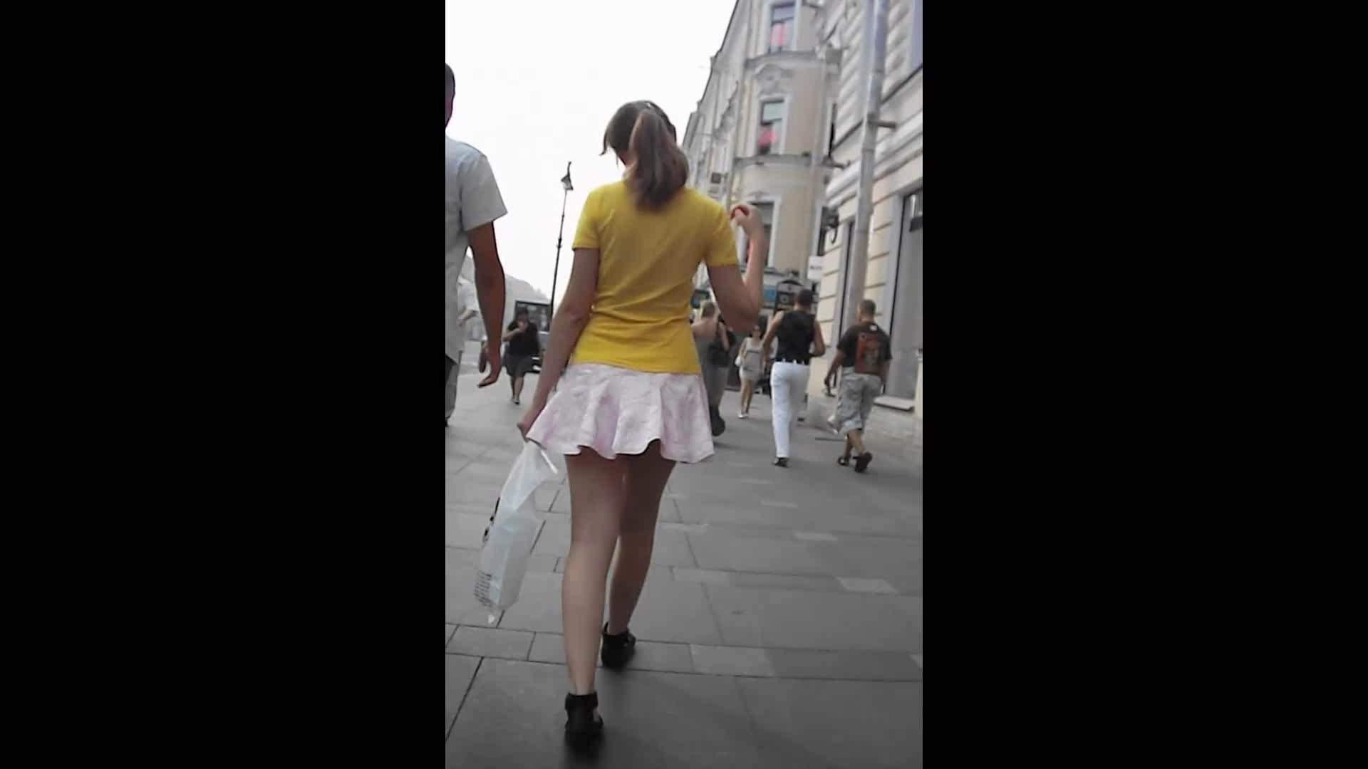 綺麗なモデルさんのスカート捲っちゃおう‼vol06 OL女体  94連発 34