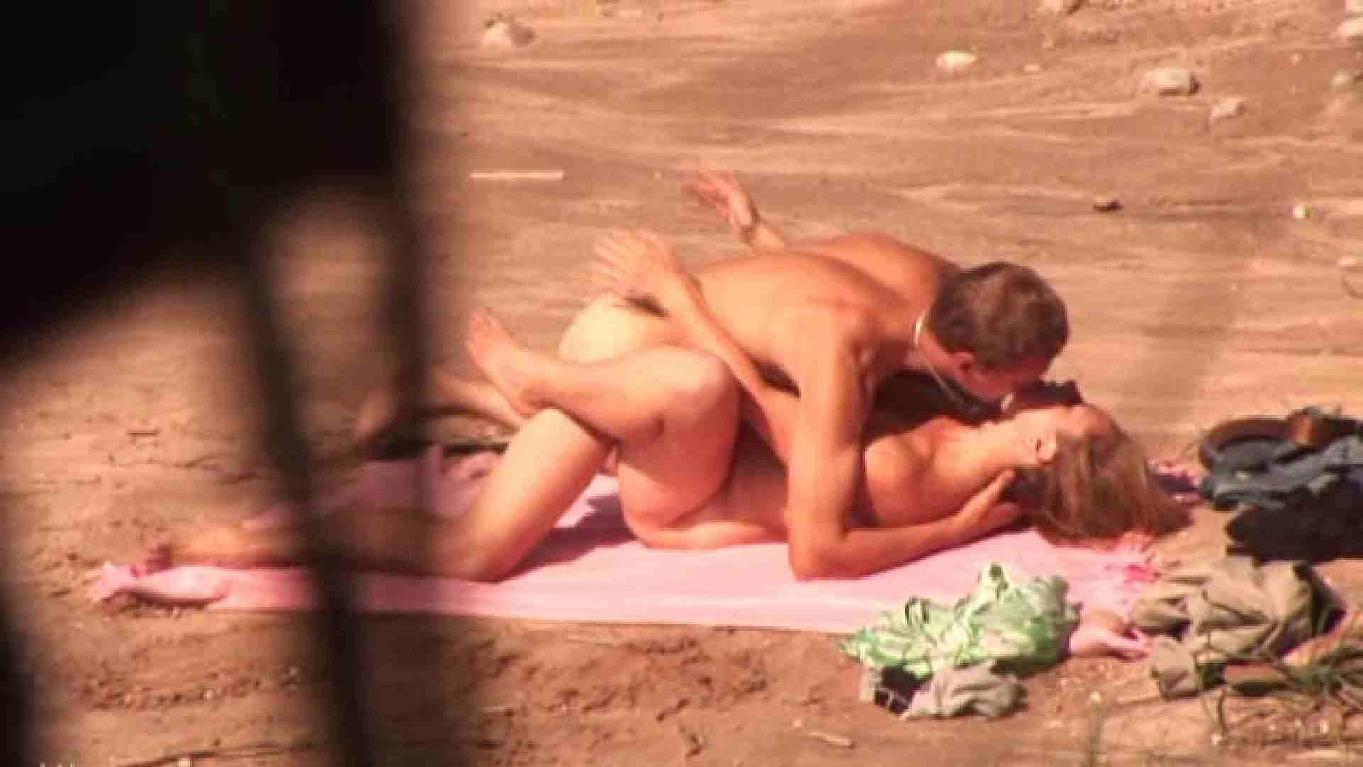 SEX ON THE BEACHvol.9 パイパン 隠し撮りすけべAV動画紹介 99連発 99
