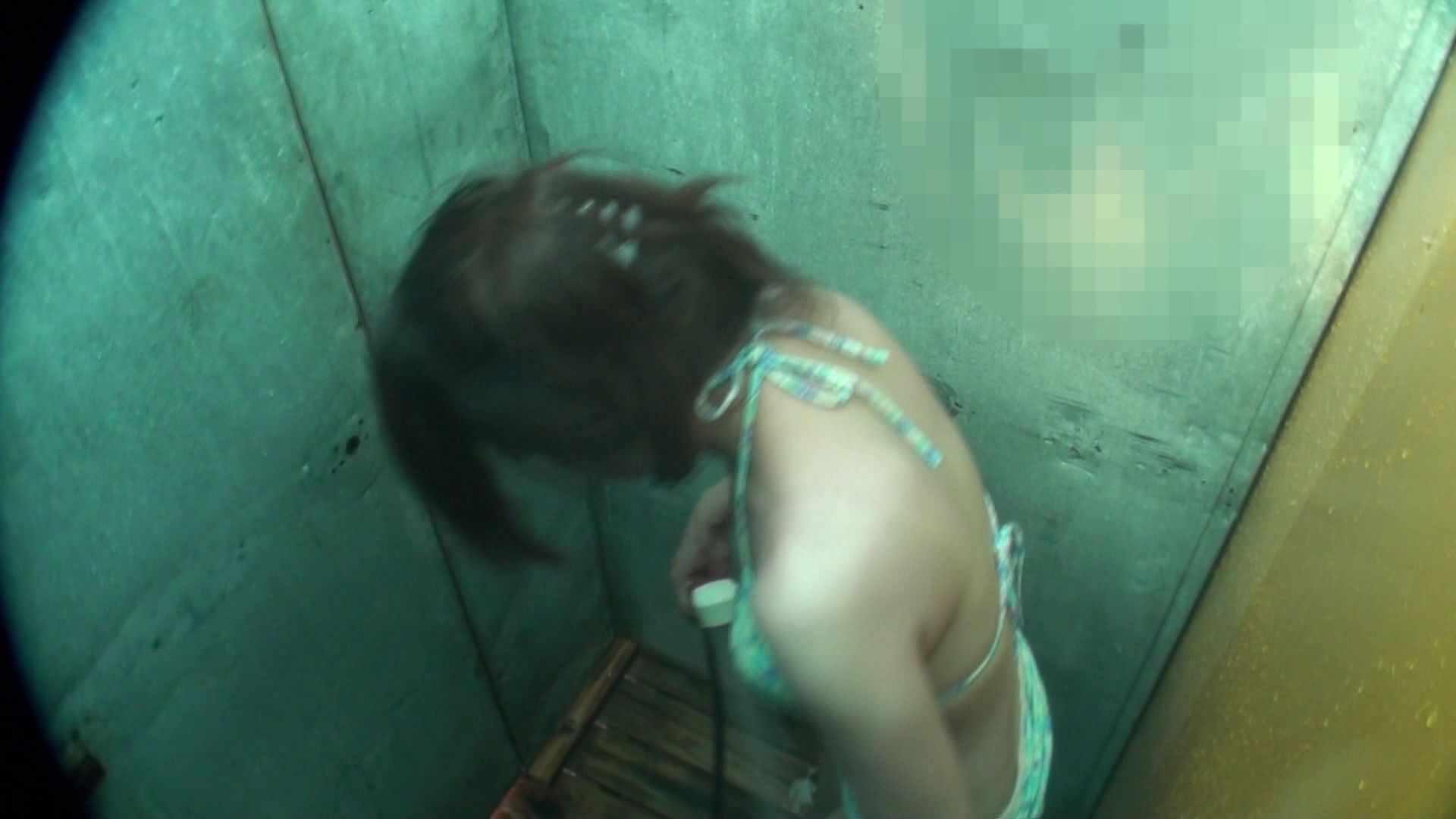 シャワールームは超!!危険な香りVol.15 残念ですが乳首未確認 マンコの砂は入念に マンコ   乳首  48連発 1