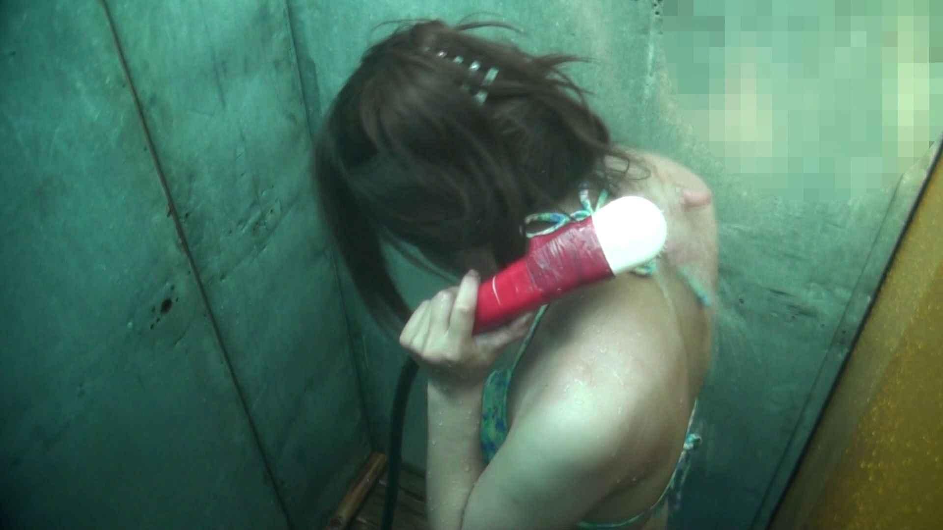 シャワールームは超!!危険な香りVol.15 残念ですが乳首未確認 マンコの砂は入念に シャワー 盗撮動画紹介 48連発 14