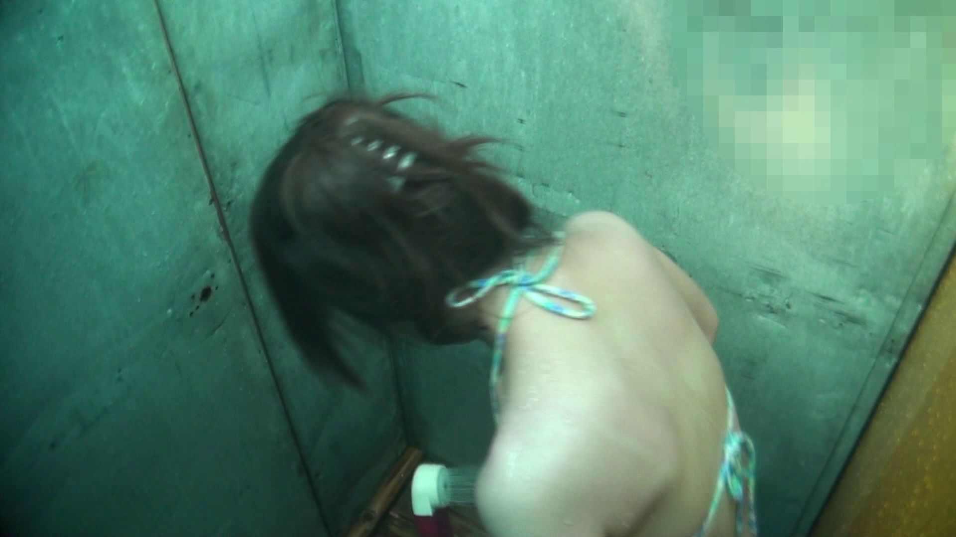 シャワールームは超!!危険な香りVol.15 残念ですが乳首未確認 マンコの砂は入念に マンコ   乳首  48連発 16