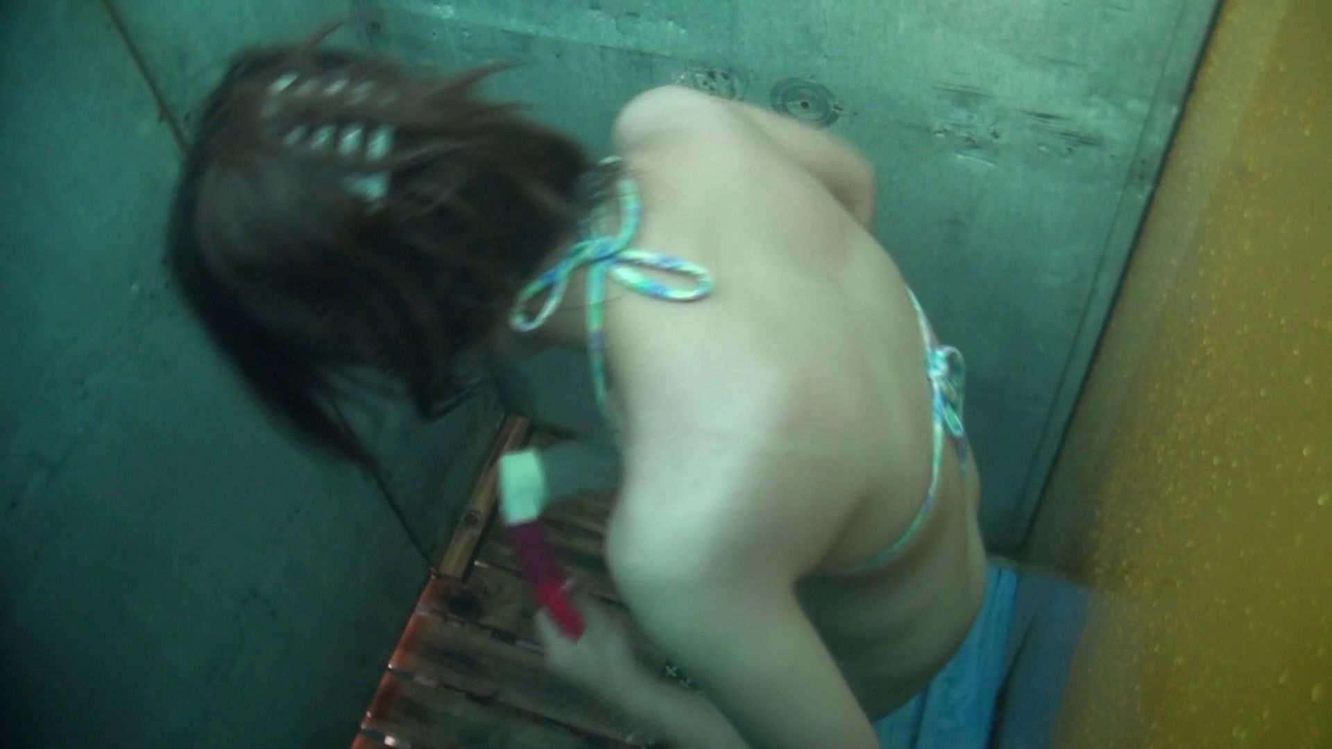 シャワールームは超!!危険な香りVol.15 残念ですが乳首未確認 マンコの砂は入念に マンコ   乳首  48連発 26