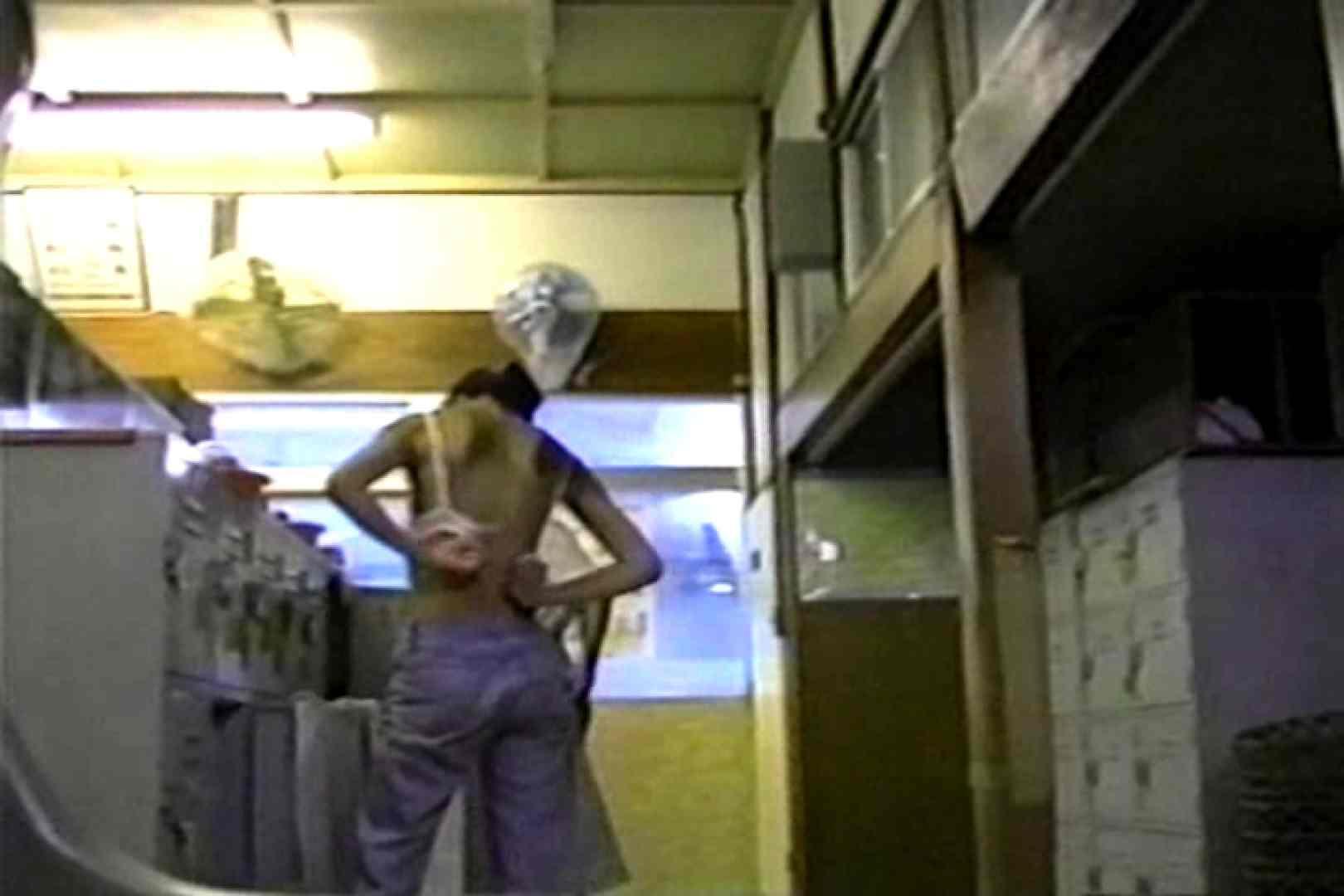 銭湯番台 投稿博多 TK-26 股間流出 のぞき動画画像 92連発 3