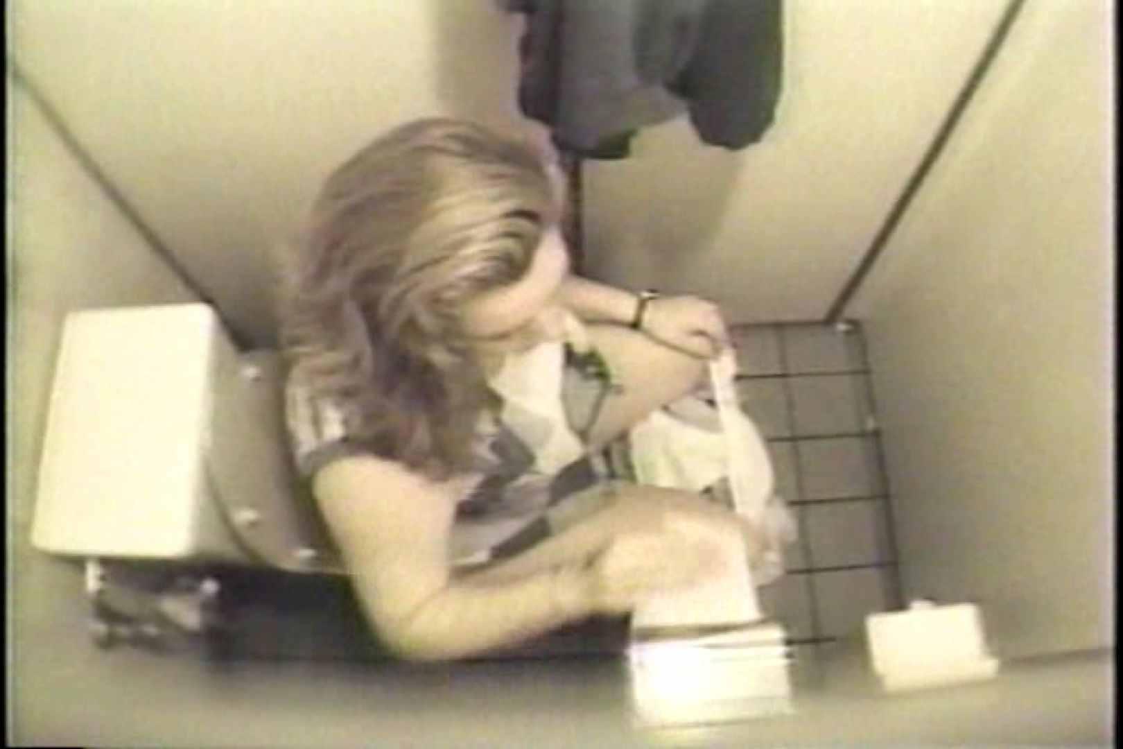 盗撮 女子洗面所3ヶ所入ってしゃがんで音出して 女体盗撮 のぞきエロ無料画像 109連発 94